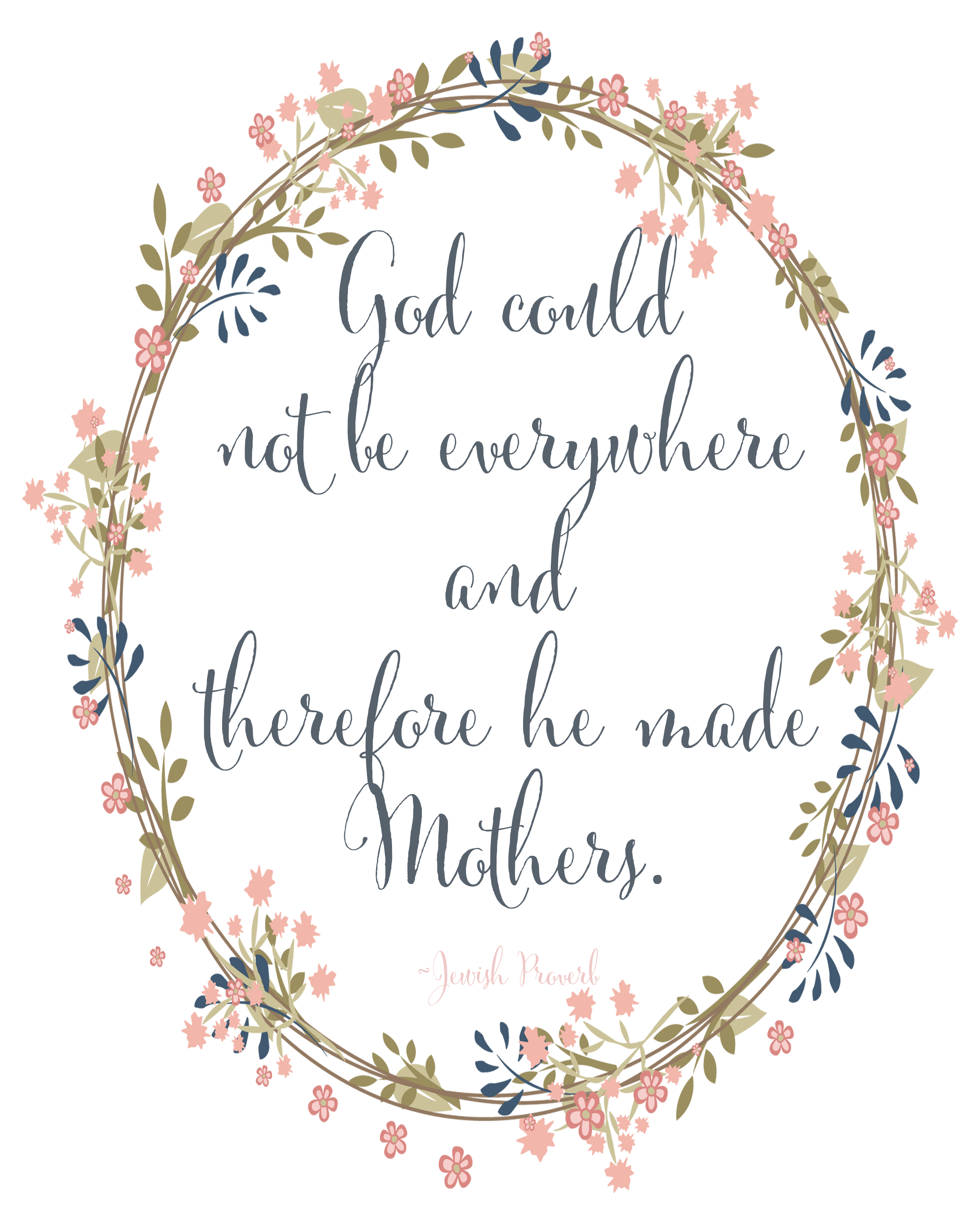Mother S Day Printable