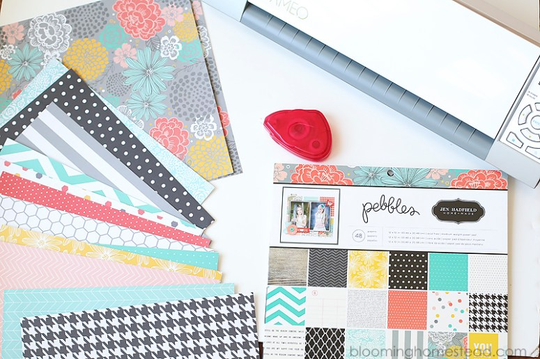 DIY Match Game by Blooming Homestead