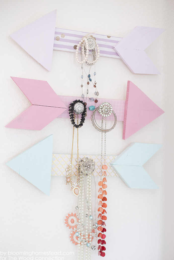 DIY Jewelry Organizer