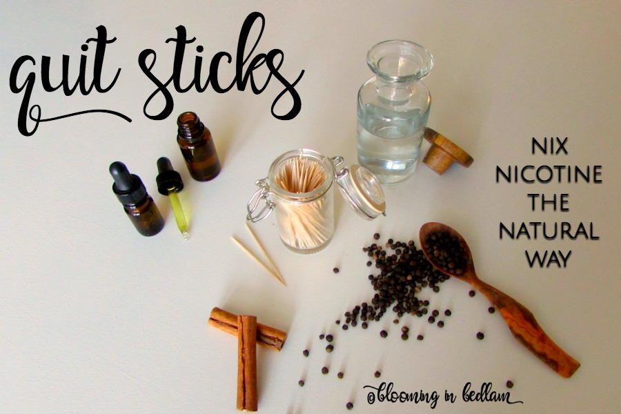Quit Sticks: Nixing Nicotine the Natural Way