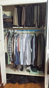 Husband closet