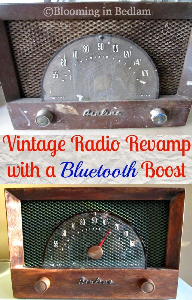 Vintage Radio Bluetooth Boost