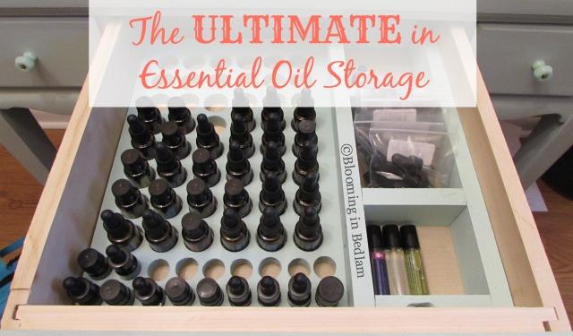 Ultimate Essential Oil Storage