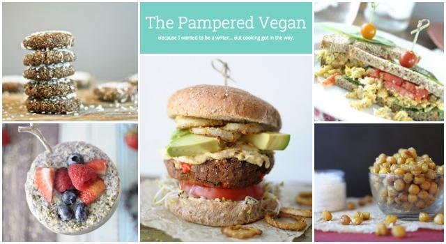 Pampered Vegan Collage