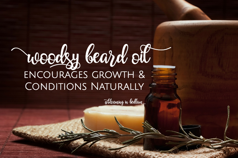Woodsy DIY Beard Oil
