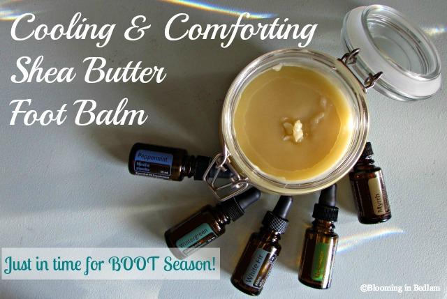 Cooling & Comforting Shea Butter Foot Balm