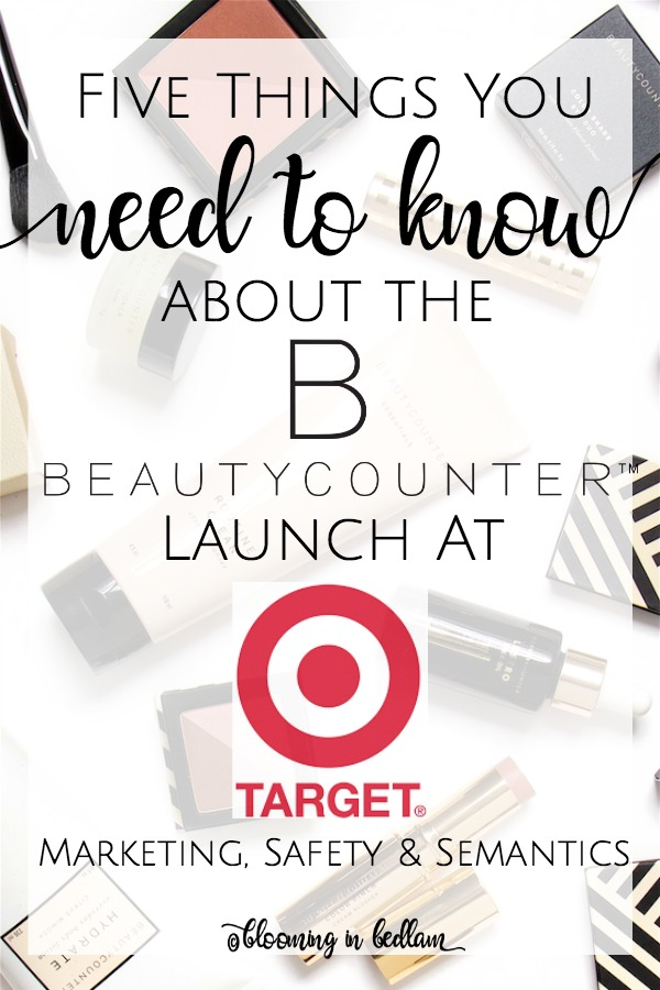 Beautycounter is Launching for a limited time at Target. But what do you know about their products? MLM, safety, if they work & how they compare to others. #beautycounter #greenbeauty #greenbeautyproducts #nontoxicskincare  #naturalbeauty #nontoxicmakeup #holisticmakeup #organicmakeup #detoxifiedmakeup