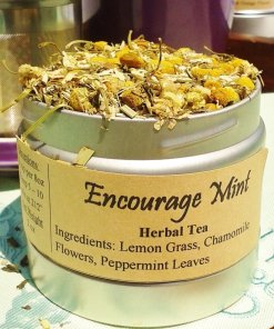encourage mint tea