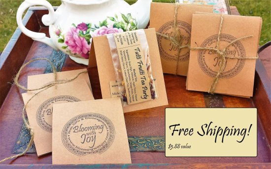 blooming with joy tea gift sampler set