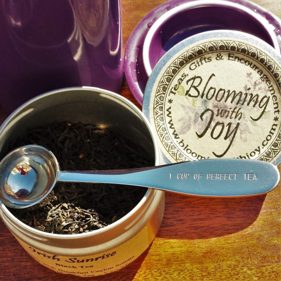 1 cup of perfect tea spoon