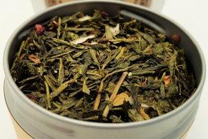 raspberry knolls tea blooming with joy