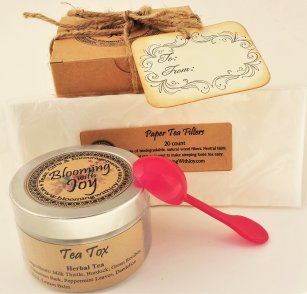 Tea Tin Gift Wrapped Set