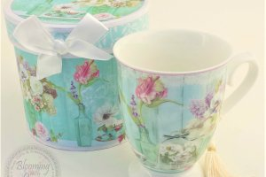 Blooming with Joy Tea Cup