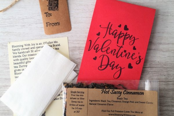 happy valentines day tea cards for adults
