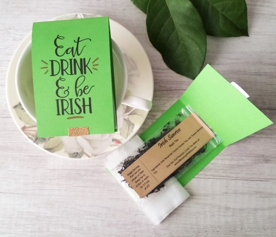 Irish Tea Favors