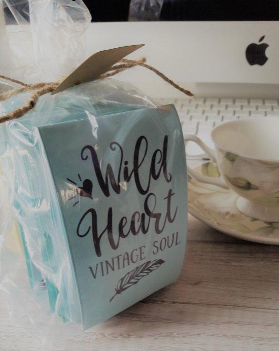 Wild Heart Vintage Soul Tea favor