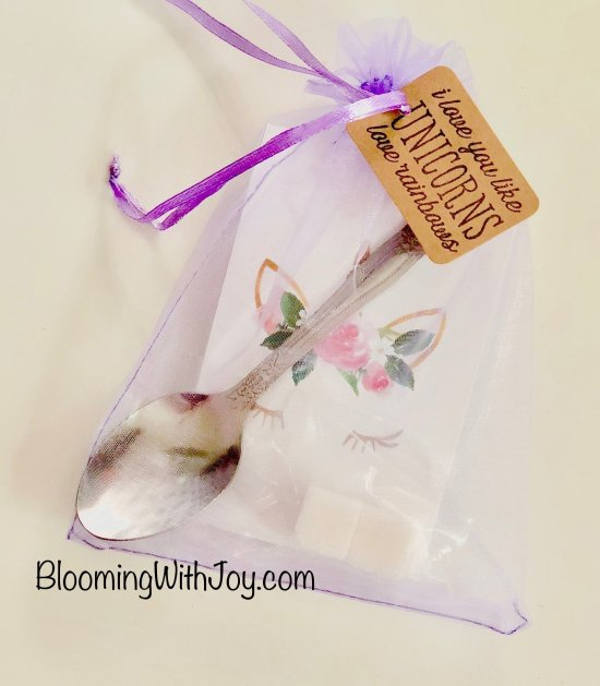 Unicorn Tea Party Favors