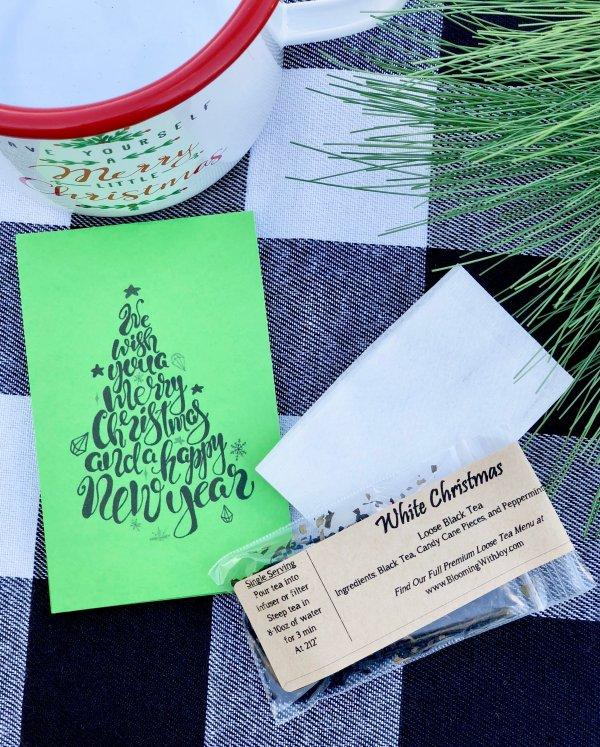 We Wish You a Merry Christmas Tea Gift