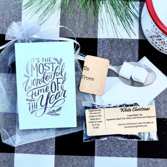 The Most Wonderful Time of The Year Tea Gift
