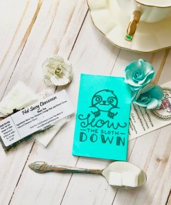 Slow The Sloth Down Small Tea Gift