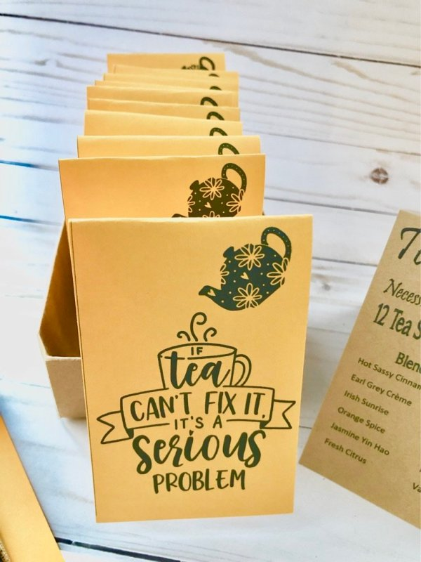 if tea cannot fix it serious problem