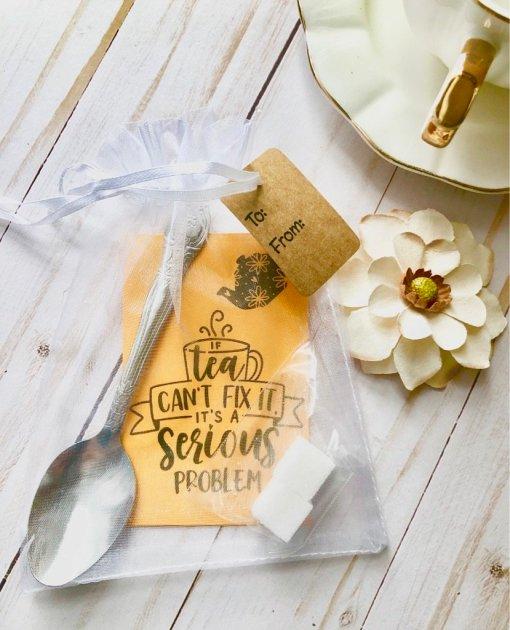 If tea cant fix it a serious problem tea gift
