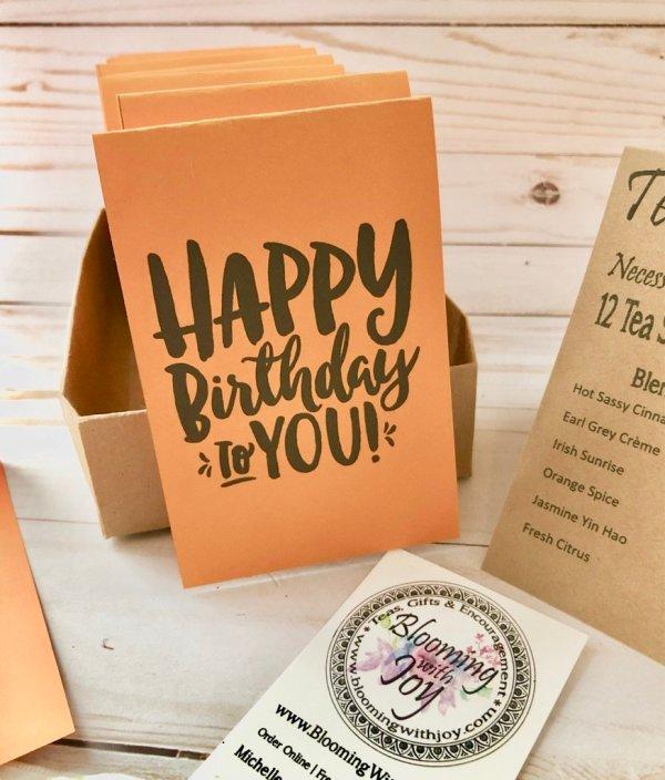 Happy Birthday Tea Sampler