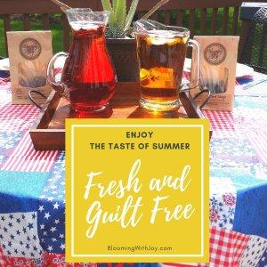 Enjoy the Taste of Summer Iced Tea