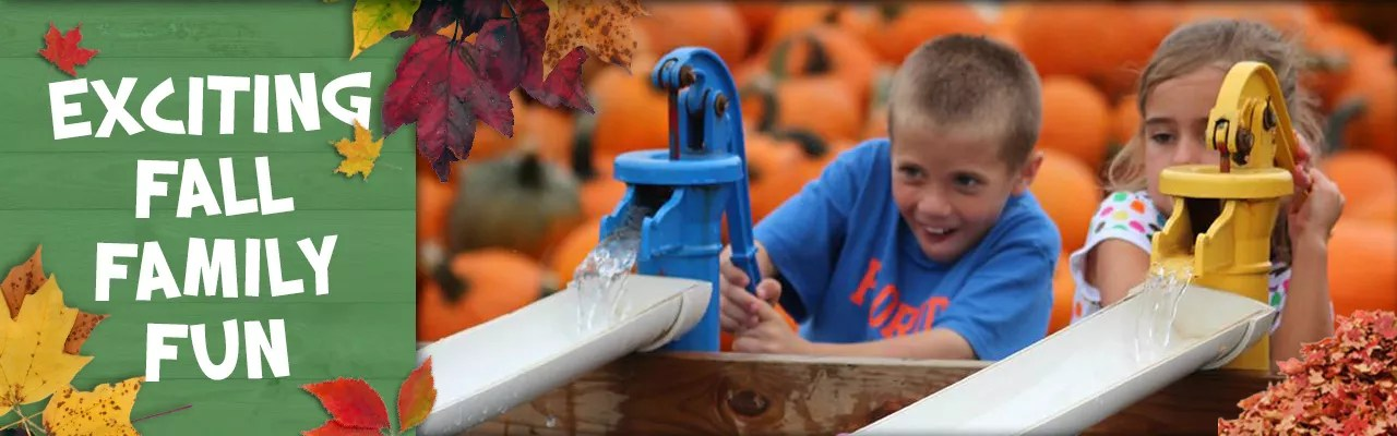 Kid-friendly fall fun on the farm at Blooms and Berries outside of Cincinnati