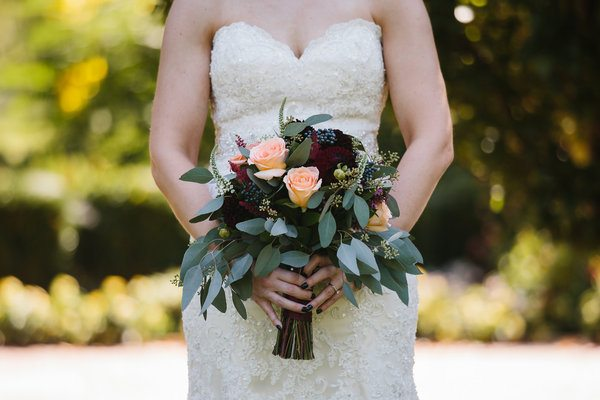 Kate + Eric / Romantic Garden Themed Wedding