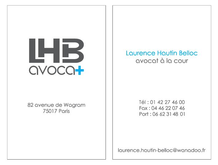 Carte de visite – LHB