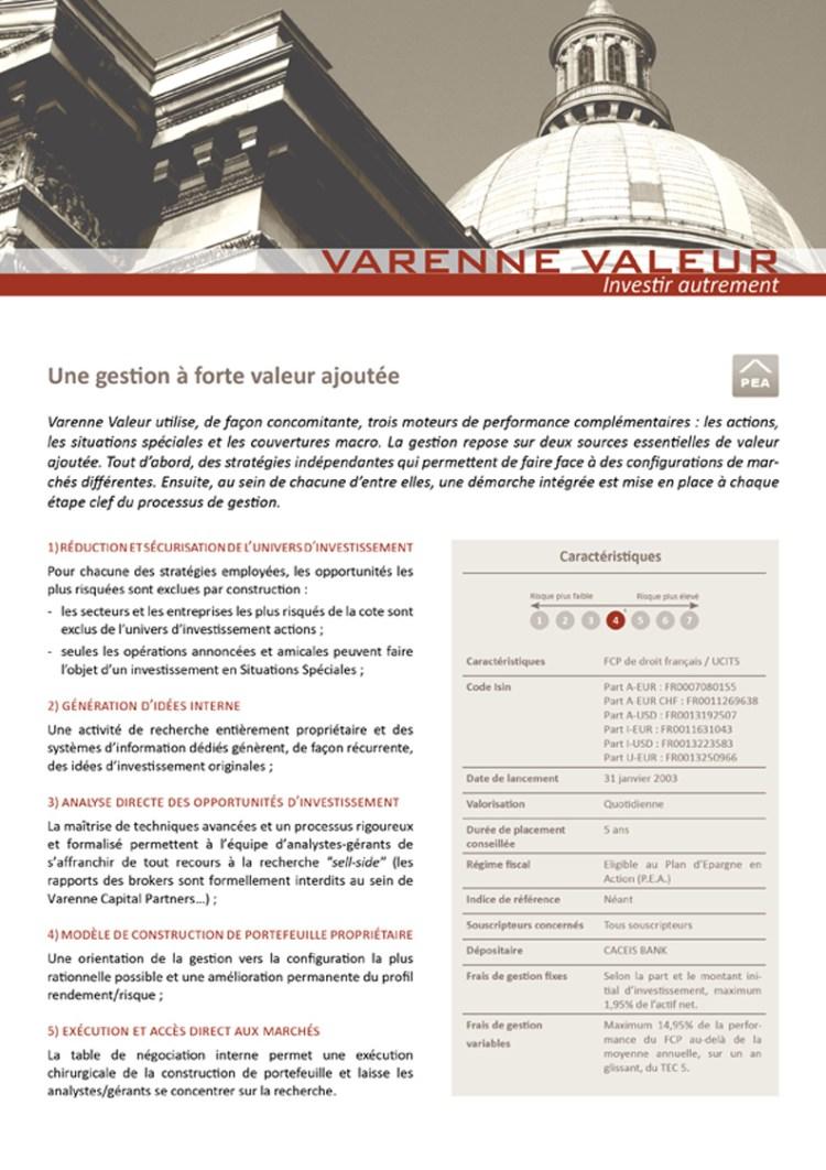 Fiche Produit 1 – Varenne Capital
