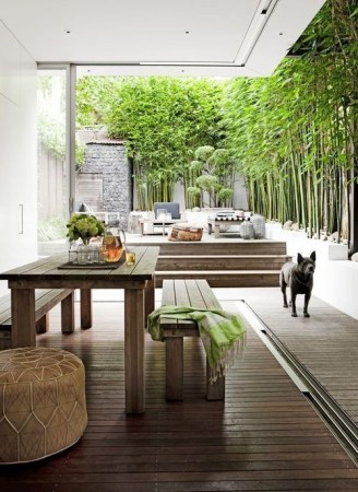 Match the flooring in your indoor - outdoor living space
