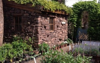 Potting shed at Shepherd House