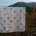 patchwork appliqué cœur