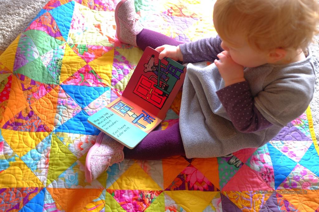 couverture pour bébé patchwork