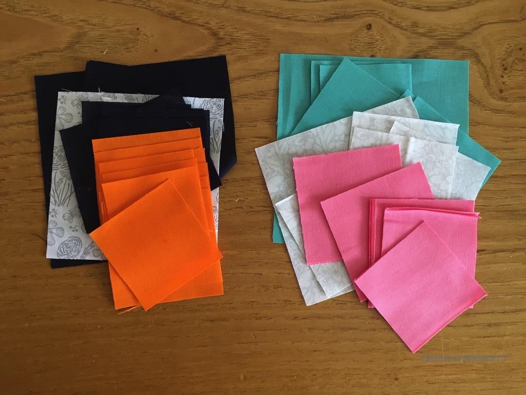 selection de tissu