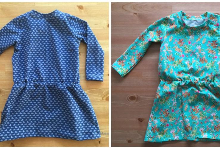 Deux petites robes de Brindille & Twig pour miss Laura