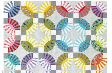 Simply Moderne n°9, toujours plus de quilts modernes et de piqué libre