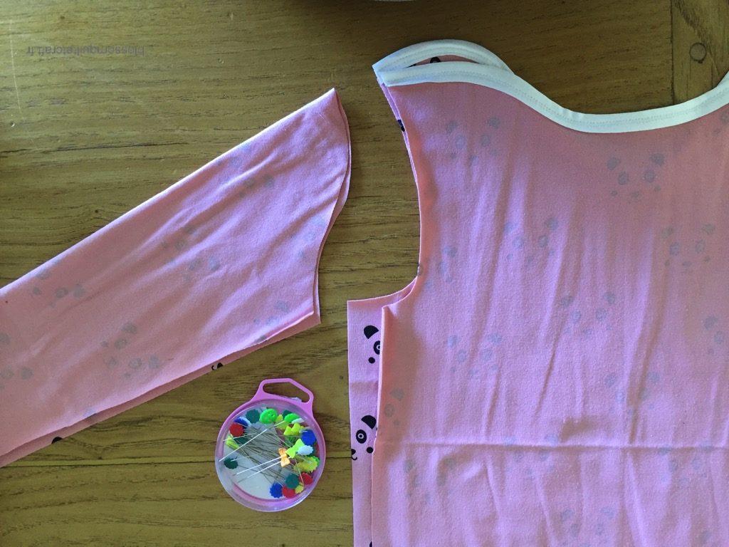 couture t-shirt enfant