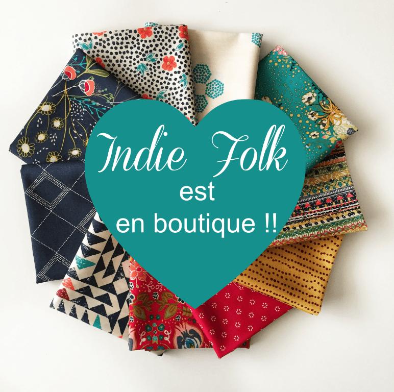 Indie Folk est en boutique !!