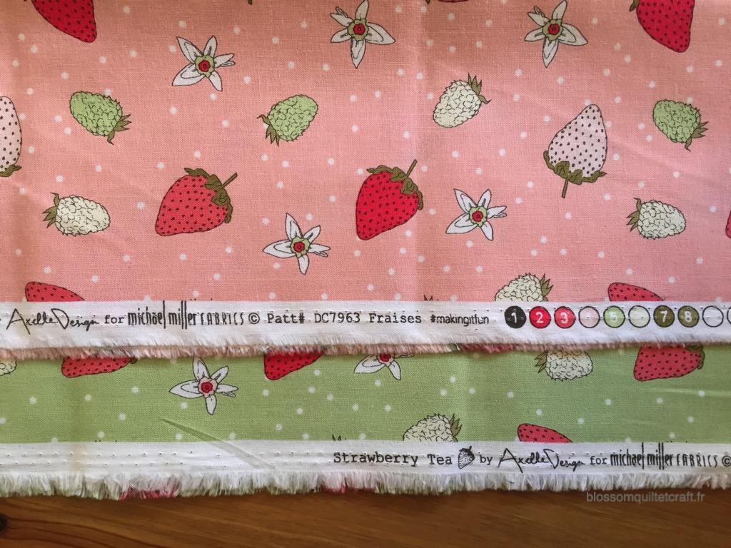 Strawberry tea Axelle Design