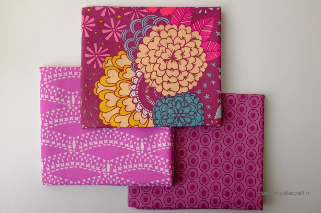 Boite color master 1 tissu patchwork