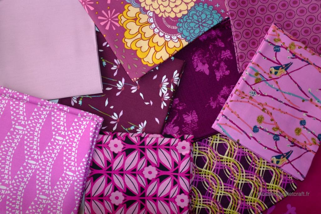 Boite color master 1 tissus patchwork moderne