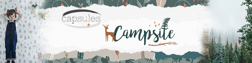 Campsite art gallery fabrics