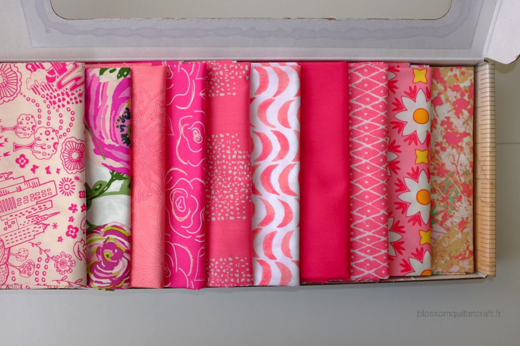 Boite color master 2 tissu patchwork