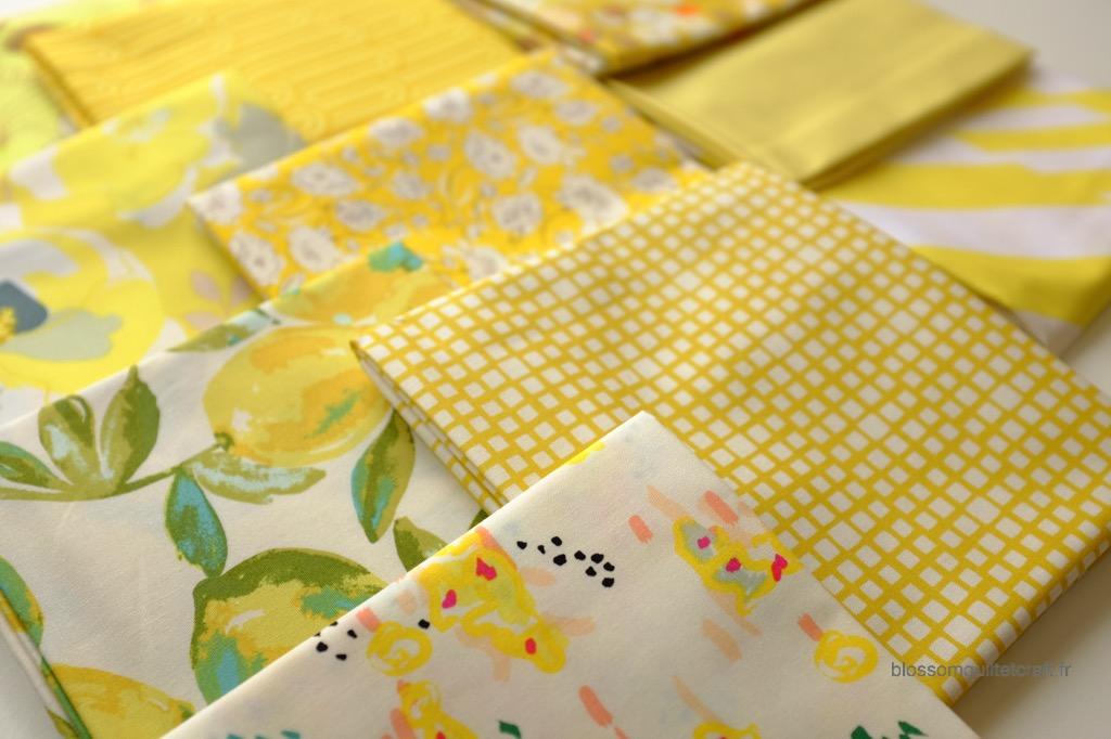 Boite color master 6 tissus pour patchwork