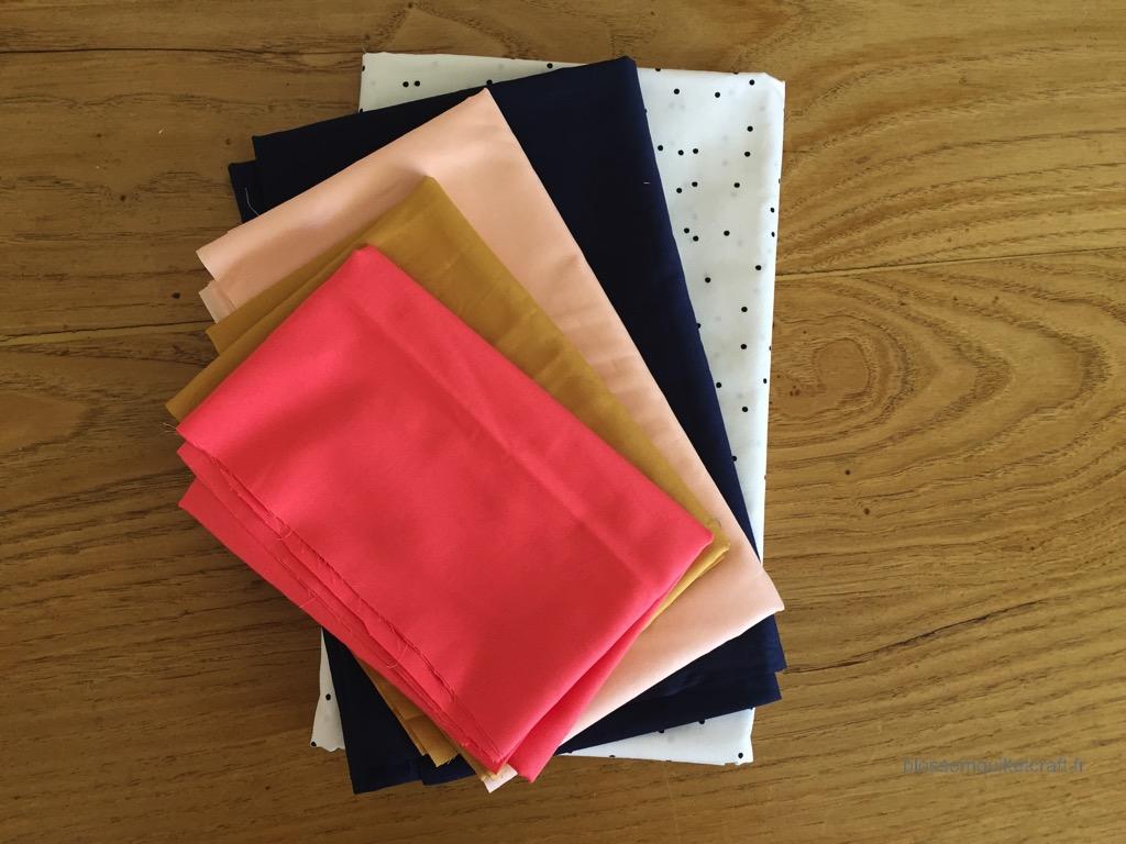 premier coloris patchwork kit Artesane