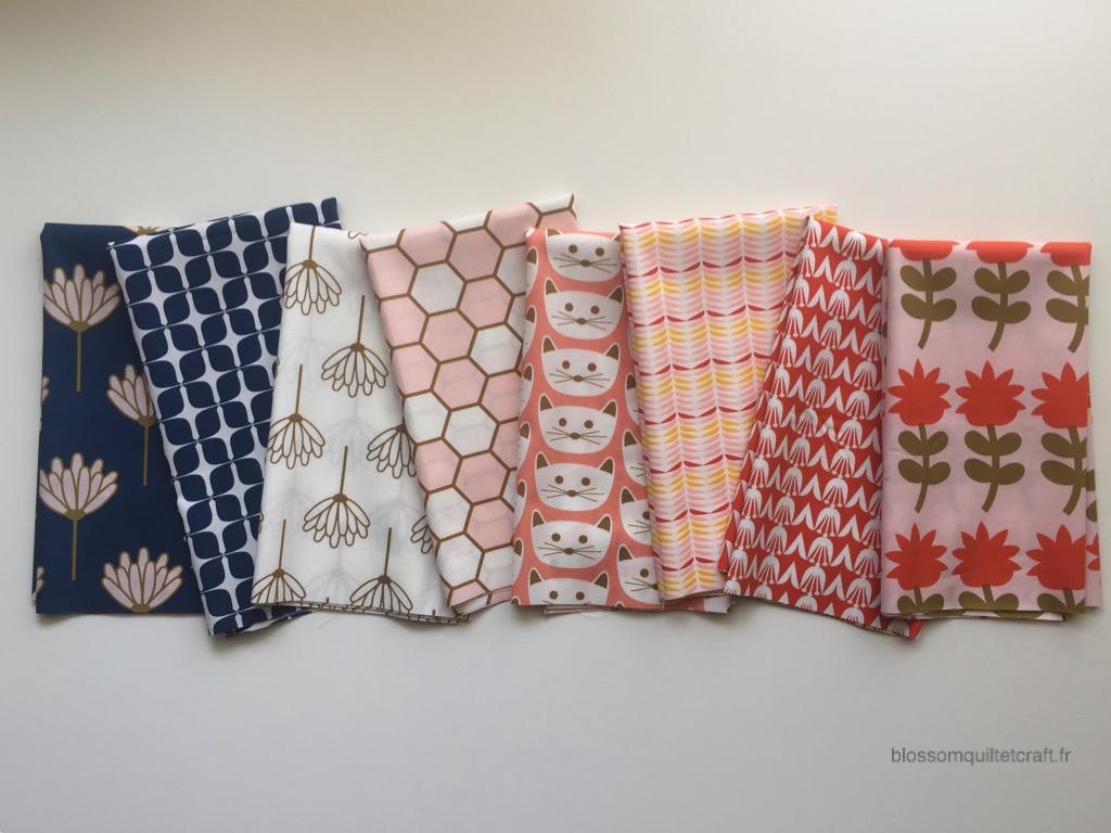Collection Blush art Gallery Fabrics