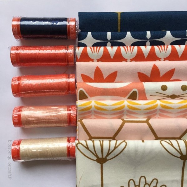 Collection Aurifil Blush